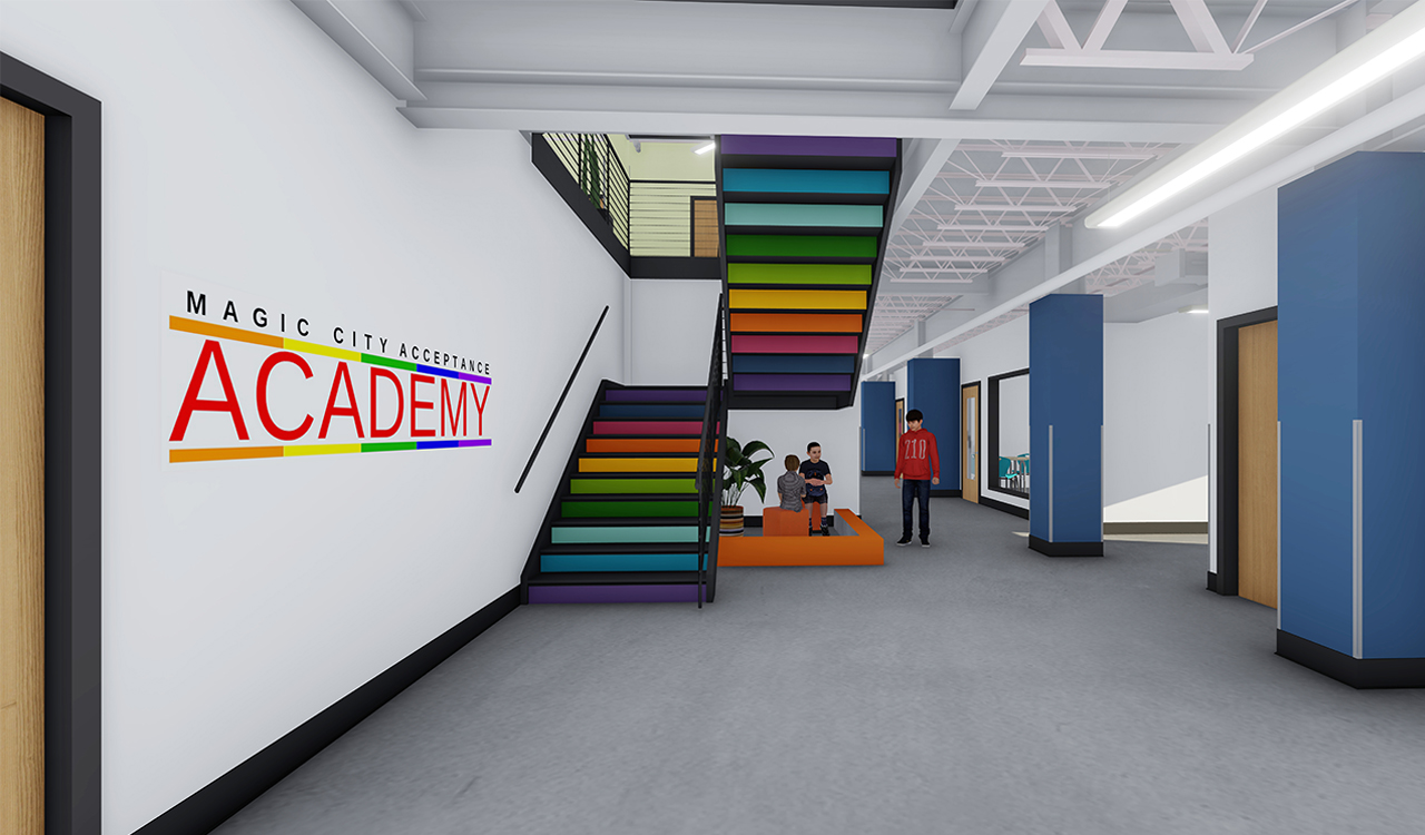 Magic City Acceptance Academy aims to offer a brave space