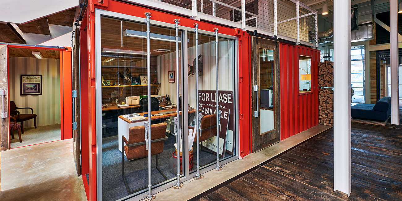 Is it a Shipping Container or a Private Office?
