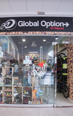 GO GLOBAL OPTION CC Santafé Medellín