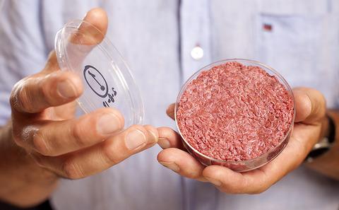 """全球首个""""试管牛肉汉堡""""背后的故事"""