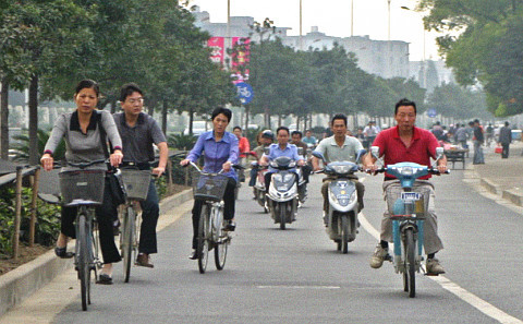 中国电动自行车热:潮流能否持续?