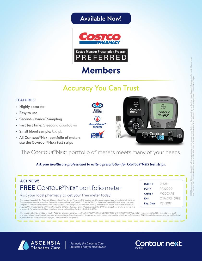 Free Bayer Contour®Next Meter Coupon - CDiabetes com