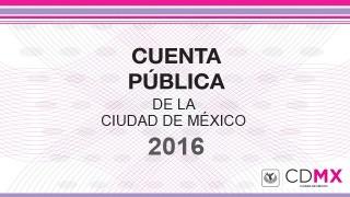 Cuenta Pública de la Ciudad de México 2016