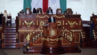 El Secretario de Finanzas comparece ante la Asamblea Legislativa de la Ciudad de México con motivo de la Glosa del Quinto Informe de Gobierno.