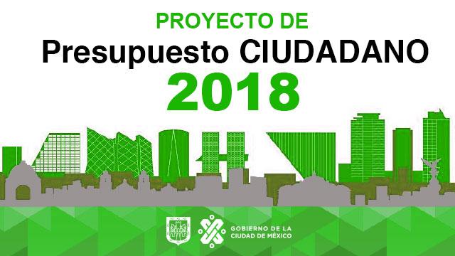Presupuesto Ciudadano 2018