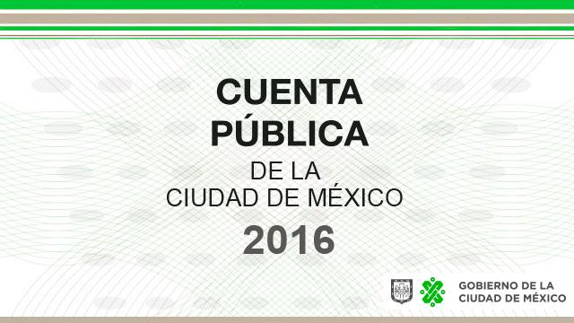 Cuenta Pública de la Ciudad de México 2017