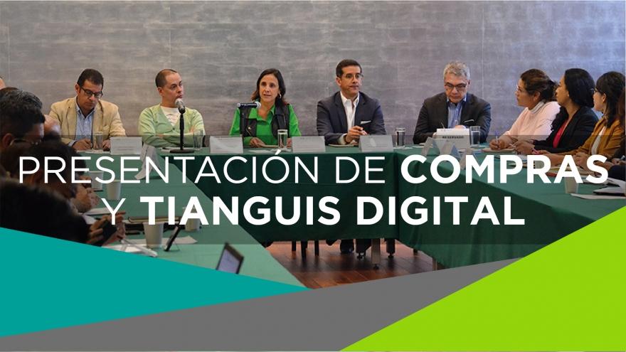 Presentación de Compras y Tianguis Digital