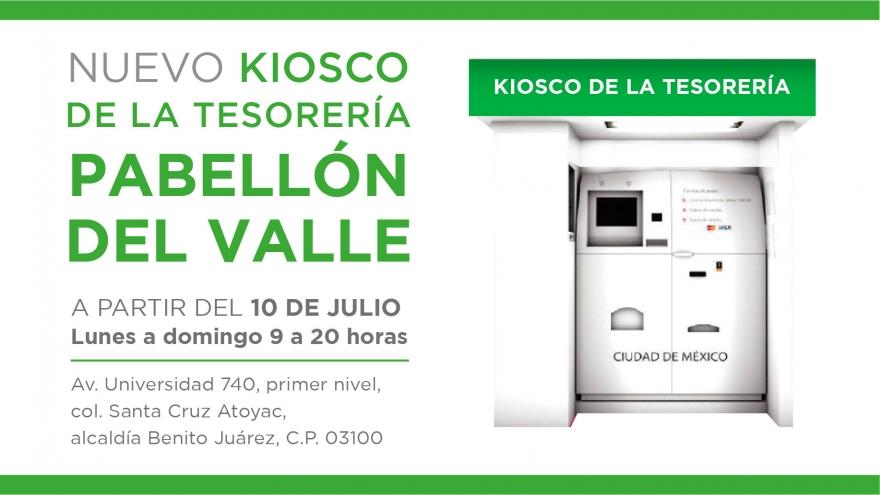 Nuevo Kiosco: Pabellón del Valle