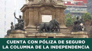 Cuenta con Póliza de Seguro la Columna de la Independencia