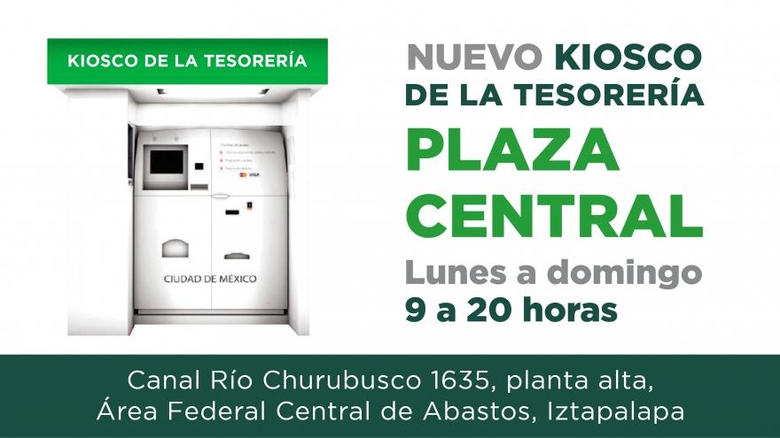 Nuevo Kiosco Plaza Central