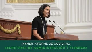 Primer Informe: Secretaría de Administración y Finanzas
