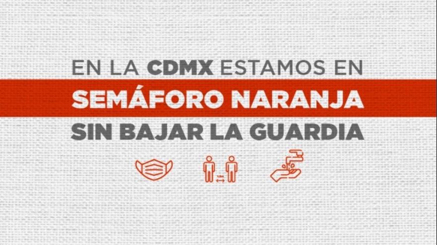 La CDMX está en Semáforo Naranja, Sin Bajar la Guardia