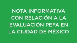 EVALUACIÓN PEFA EN LA CIUDAD DE MÉXICO