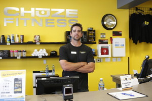 Aaron Rodgers at Chuze Fitness