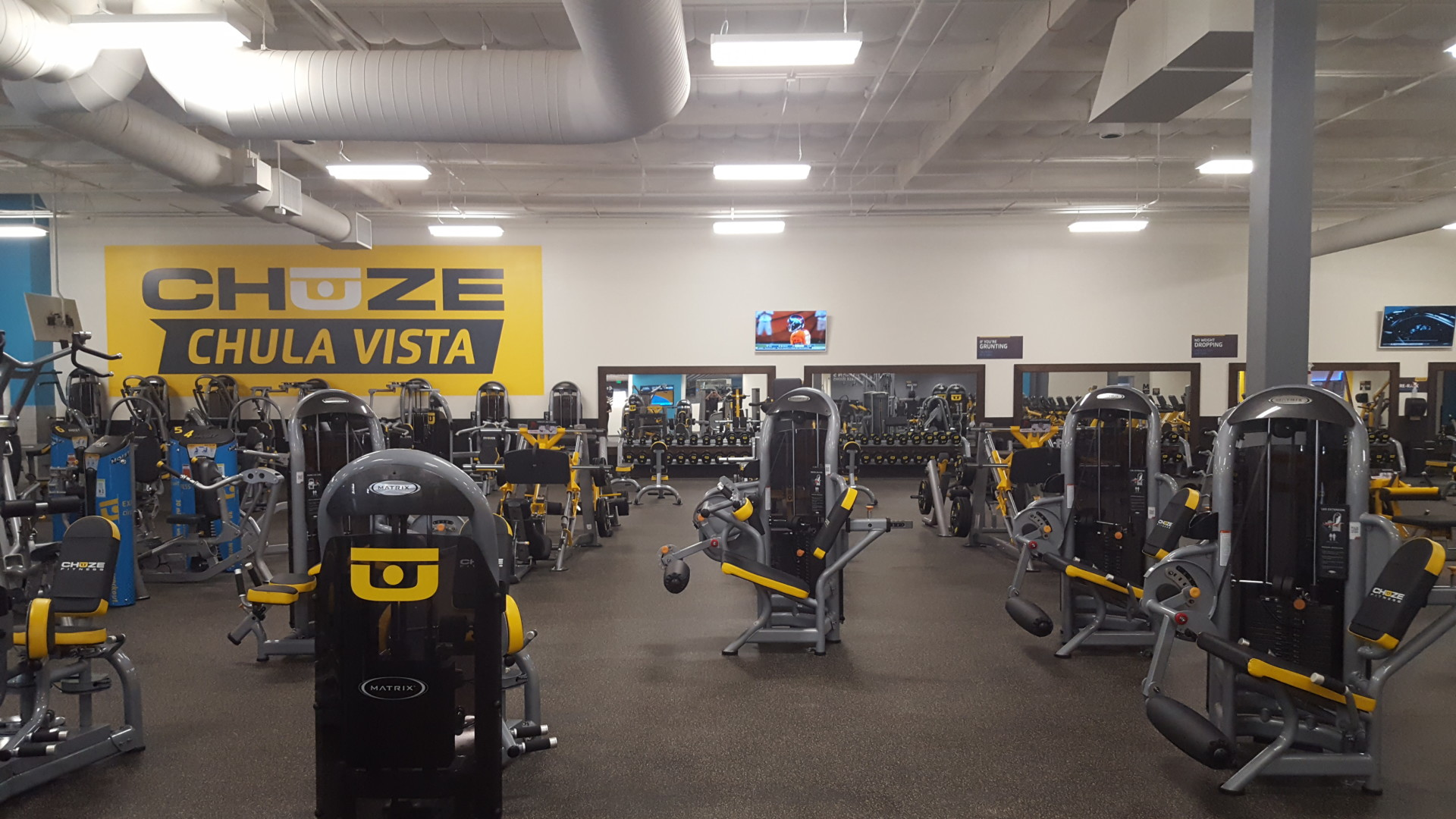 New Chuze Fitness in Chula Vista