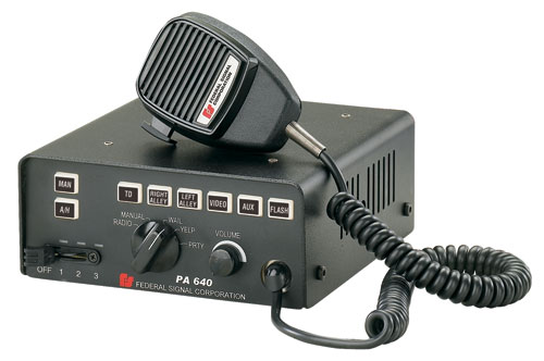 Federal Signal - PA640 SIREN (100-WATT)