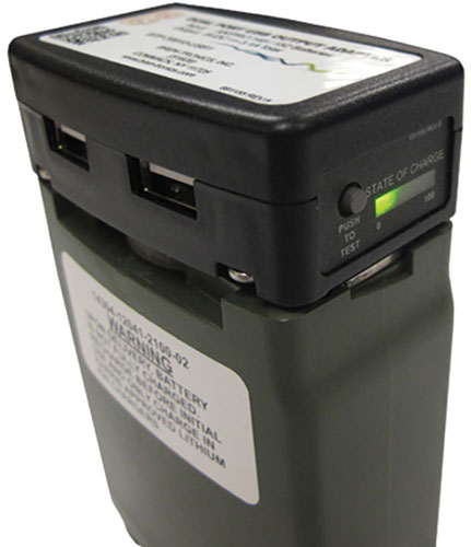 Bren-Tronics - USB Dual Port Charger for AN/PRC-148 and AN/PRC-152 Handheld Radios