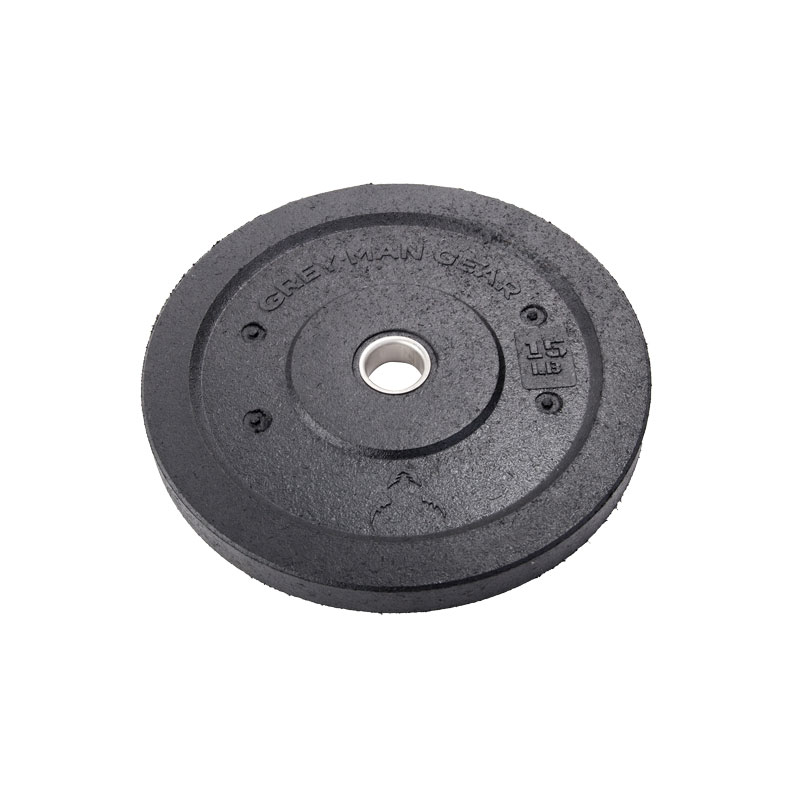 BeaverFit - Grey Man Gear Bumper Plates