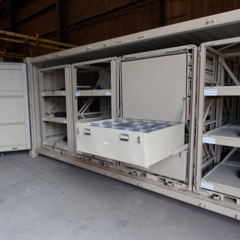 Cave Systems - Rapid Deployment Storage Solution ISO 20'