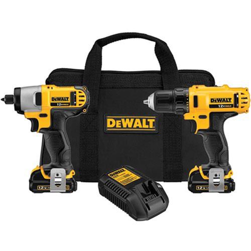 DeWalt - 12V Max* Drill/Impact Combo Kit