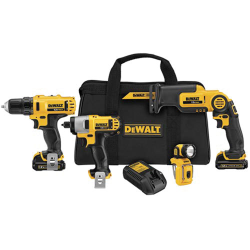DeWalt - 12V Max* Four Tool Combo Kit