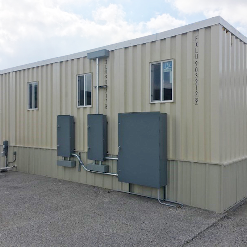 Expeditionary Building Systems (EBS) - Containerized Structures