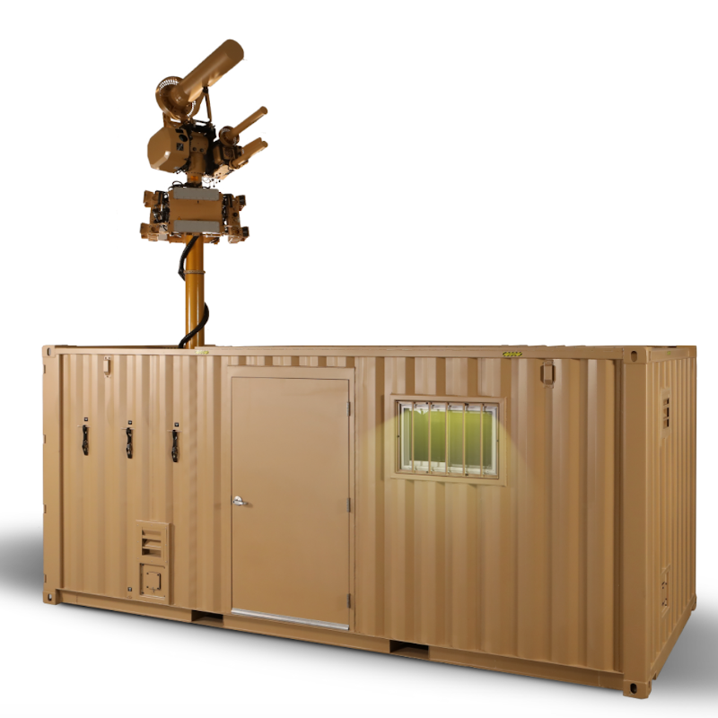 Liteye - C-AUDS (Containerized - Anti-UAS Defense System)