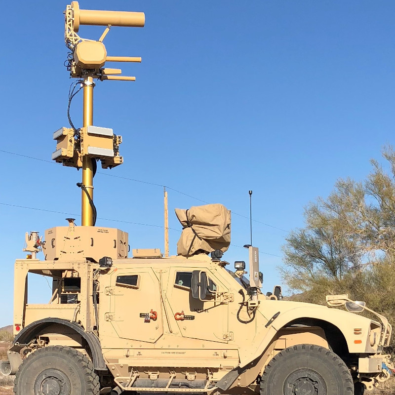 Liteye - M-AUDS (Mobile - Anti-UAS Defense System)