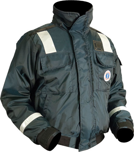 Mustang Survival - Classic Flotation Bomber Jacket with Reflective Tape