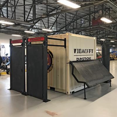 BeaverFit - Method of Entry Lockers