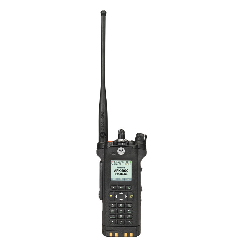 Motorola Solutions - APX<sup>TM</sup> 6000 Single-Band P25 Portable Radio 700/800 MHz Model 3.5