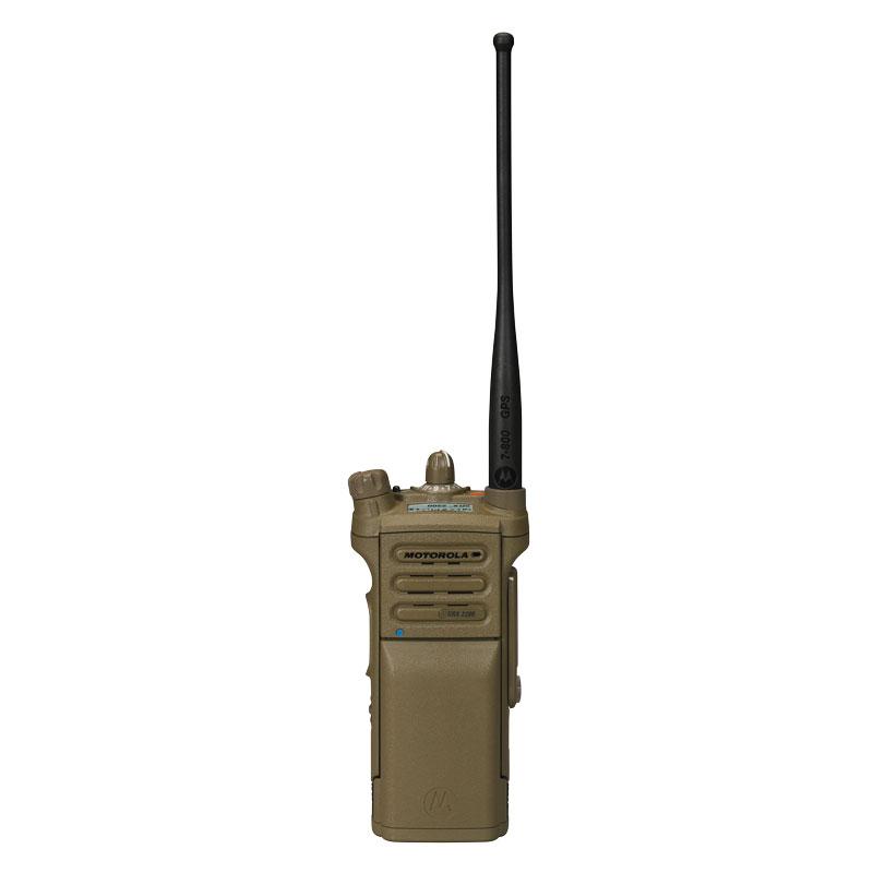 Motorola Solutions - SRX 2200 Single-Band P25 Combat Radio UHF Range 1 Model 1.5