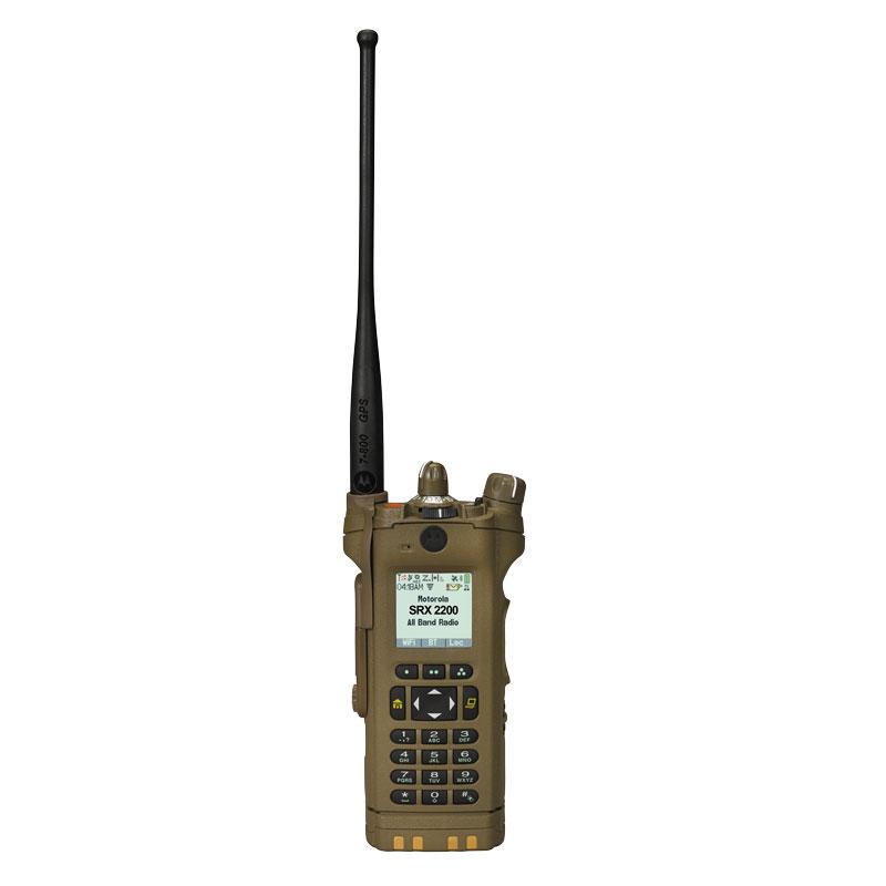 Motorola Solutions - SRX 2200 Single-Band P25 Combat Radio UHF Range 1 Model 3.5
