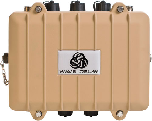 Persistent Systems - Wave Relay® Quad Radio Router