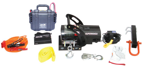Power Hawk - Joint Forces Extrication - Portable Winch Kit