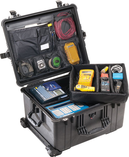 Pelican - 1624 Case with Padded Dividers