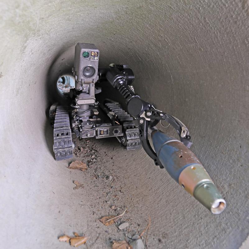 QinetiQ - SPUR Squad-Packable Utility Robot