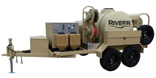 Riveer - Advanced Decontamination and Wash System for Hazardous Materials