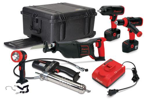 Snap-On - 18V Ni-Cad Master Cordless Tool Kit