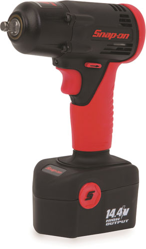 Snap-On - Impact Wrench, Cordless, 14.4 Volt, Slide-On Battery, 3/8