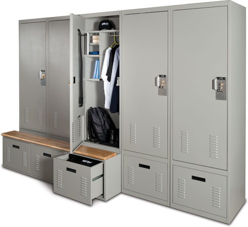Spacesaver - Freestyle® Personal Storage Lockers