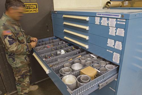 Stanley Vidmar - Modular Storage Cabinets
