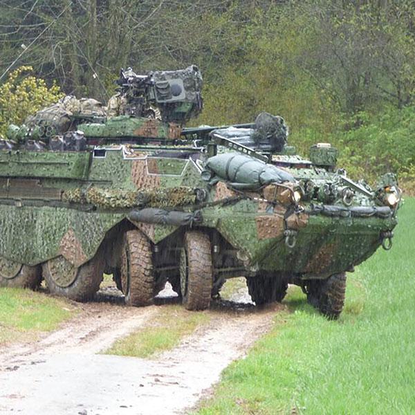 Saab Barracuda - Mobile Camouflage System (MCS)