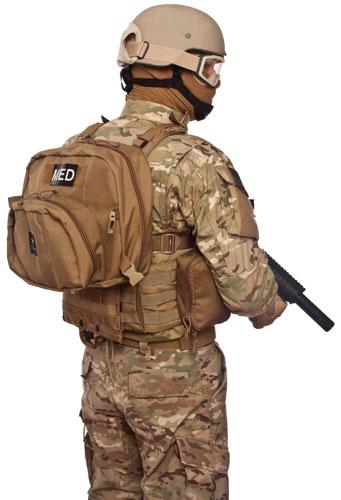 Tactical Medical Solutions (TMS) - Patrol Aid Bag