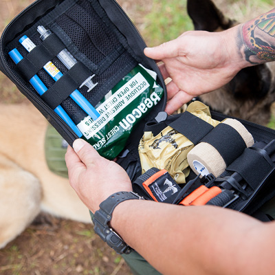 Tactical Medical Solutions (TMS) - K9 Handler Trauma Kit