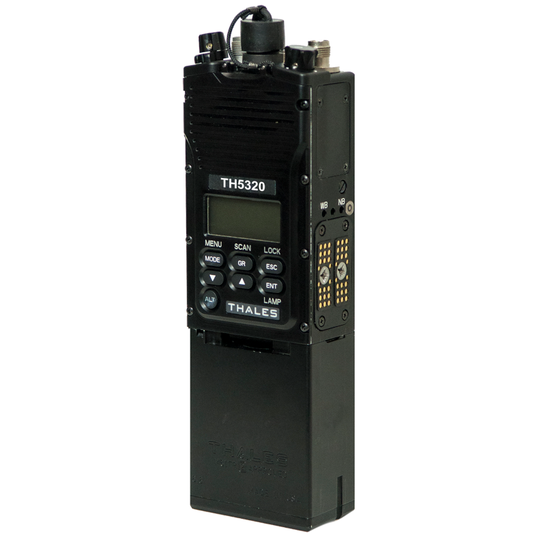 Thales - TH5320/TH5325 IMBITR® Simultaneous 2-Channel Secure Team Radio (Non Type-1 IMBITR)