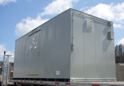 U.S. Chemical Storage - 2 Hour Fire Rated Petroleum, Oils, & Lubricants (POL) Storage Building
