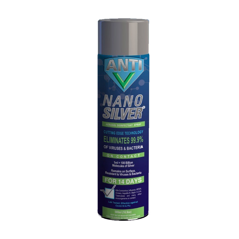 RussKap Holdings - Anti-V NanoSilver Disinfectant Spray
