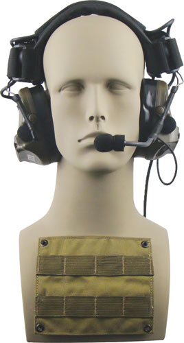 Atlantic Signal - ARC Rail Mount Helmet to Head Transition Kit for Peltor ACH COMTAC III Headsets