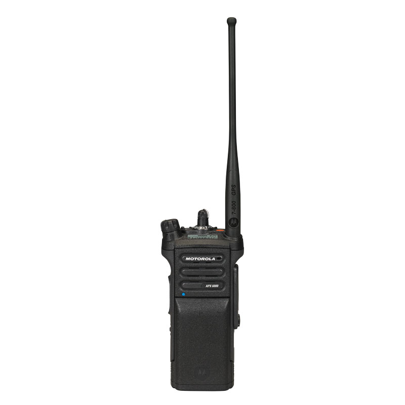 Motorola Solutions - APX<sup>TM</sup> 6000 Single-Band P25 Portable Radio 700/800 MHz Model 1.5
